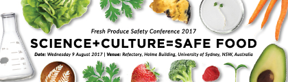 Fresh Produce Safety Conference 2017 banner