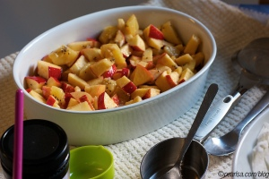 Apple and Kiwi Crumble Pearlsa https://flic.kr/p/apAJJq CC BY-NC 2.0 https://creativecommons.org/licenses/by-nc/2.0/